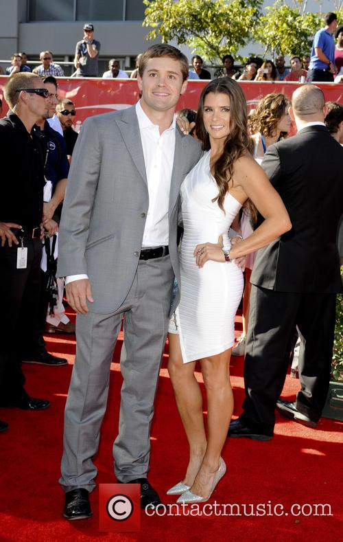 Danica Patrick and Ricky Stenhouse 4