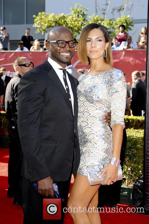 Taye Diggs and Amanza Smith Brown 1