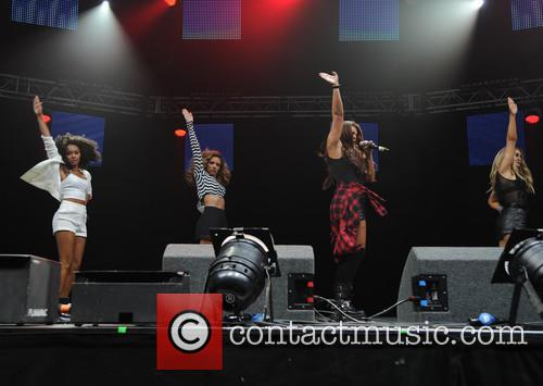 Leigh-anne Pinnock, Jade Thirlwal, Jessy Nelson and Perrie Edwards 9