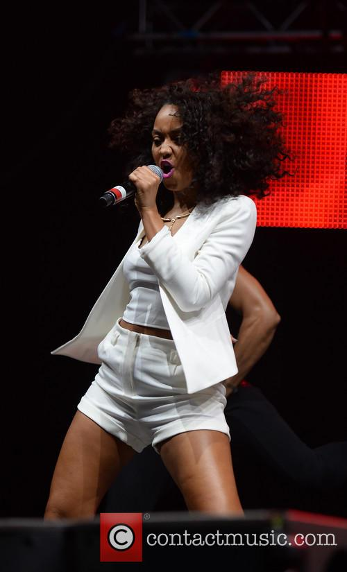 Leigh-anne Pinnock and Little Mix 8