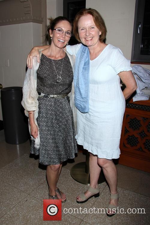 Diane Lane and Kate Burton