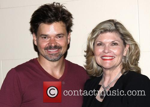 Hunter Foster and Debra Monk