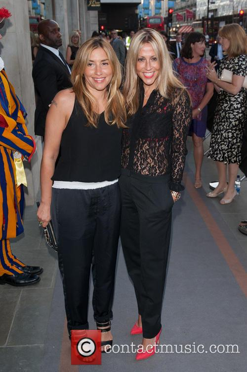Nicole Appleton and Melanie Blatt