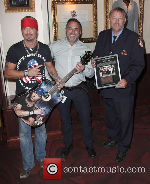 Bret Michaels, Daniel Sarroino and Ray Pfefer 5