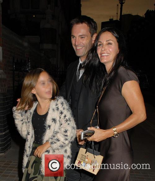 Courteney Cox, Coco Arquette and Johnny Mcdaid 2
