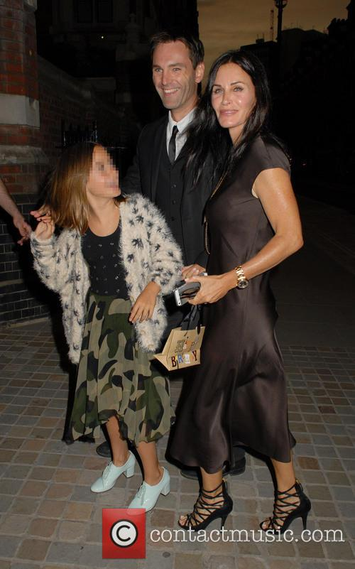 Courteney Cox, Coco Arquette and Johnny Mcdaid 3