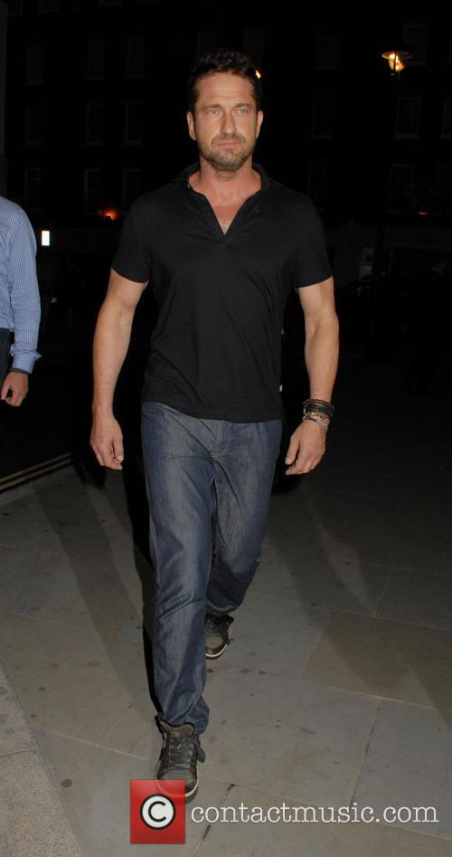 gerard butler celebrities at chiltern firehouse 4292511