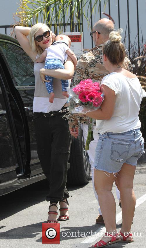 Gwen Stefani spotted out in West Hollywood with...