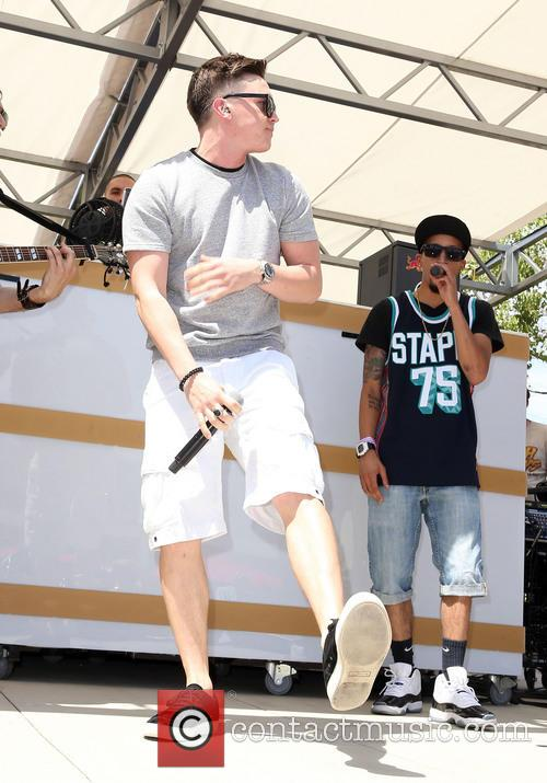 Jesse McCartney performs at 'Ditch Fridays' at Palms...