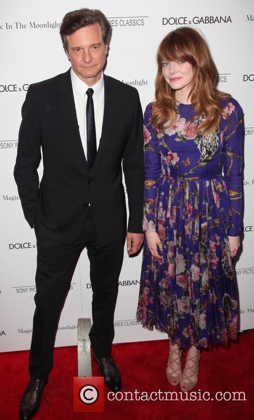 Colin Firth and Emma Stone 3