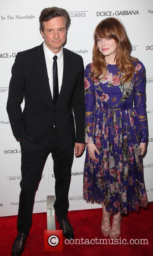 Colin Firth and Emma Stone 5