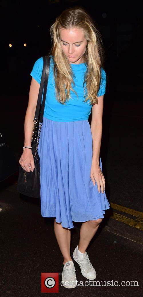 Cressida Bonas leaves the Rosemary Branch Theatre