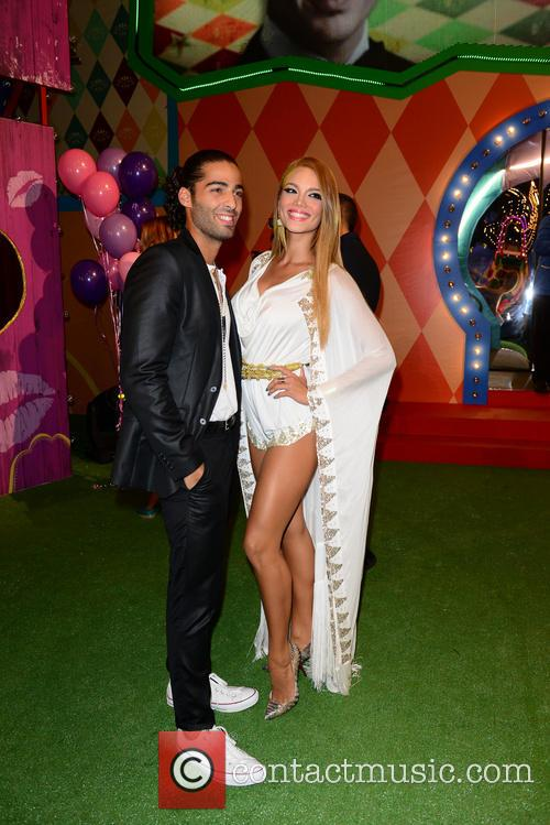 Jason Canela and Zuleyka Rivera