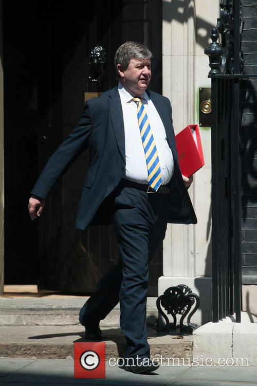 Ministers leaving Downing Street