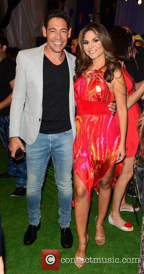 Johnny Lozada and Natalia Cruz