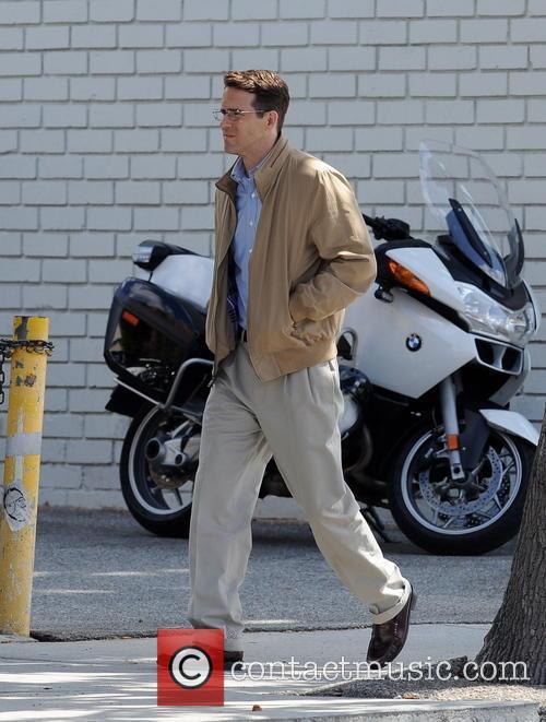 Ryan Reynolds filming \Woman In Gold\