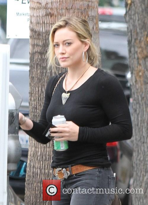 Hilary Duff spotted in Studio City