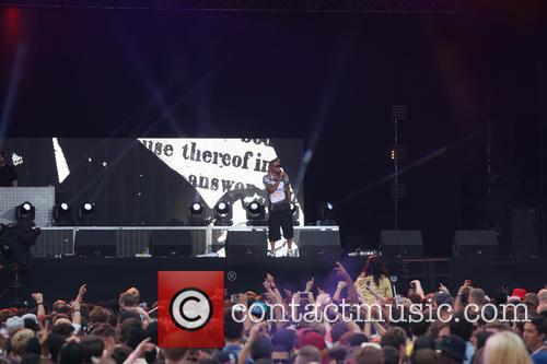 NAS performs at Lovebox Festival 2014