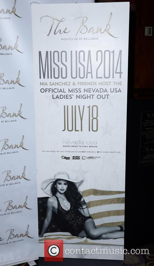 Nia Sanchez hosts the official Miss USA Lady's...