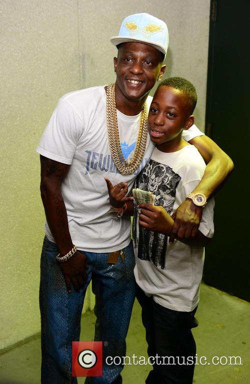 Lil Boosie  backstage at the James L...