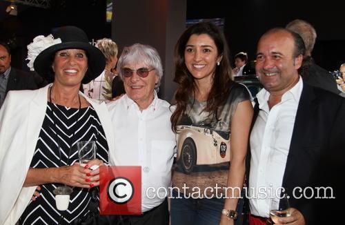 Mrs Niefer, Bernie and Fabiana Ecclestone 1