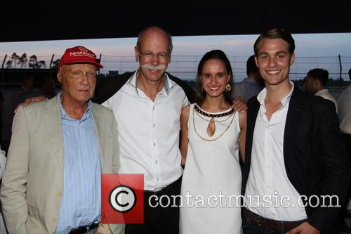 Niki Lauda, Nora Zetsche and Friend 3