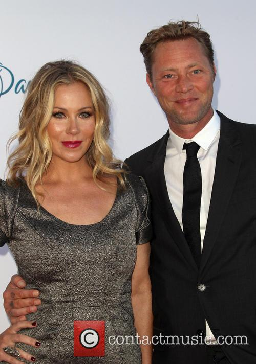 Christina Applegate and Martyn Lenoble 3