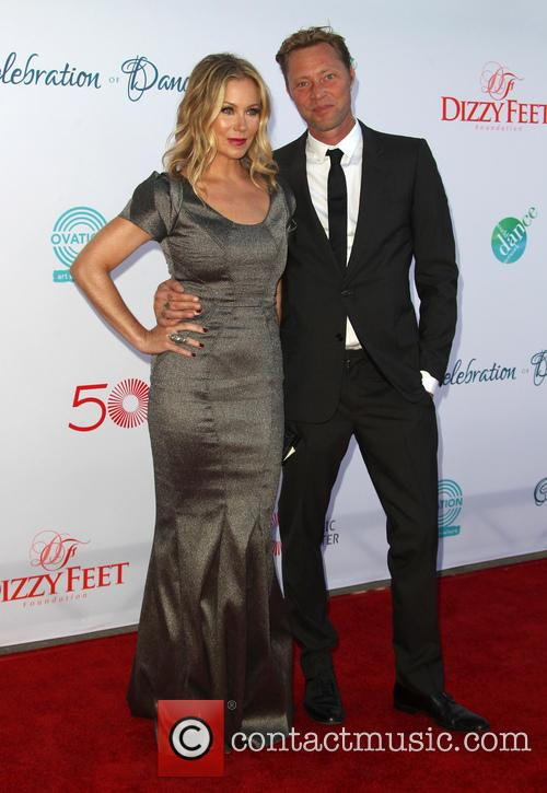 Christina Applegate and Martyn Lenoble 5