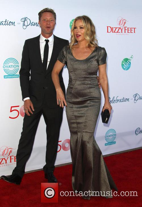 Christina Applegate and Martyn Lenoble 6