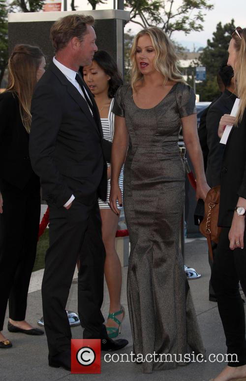 Christina Applegate and Martyn Lenoble 8