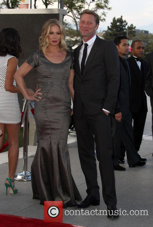 Christina Applegate and Martyn Lenoble 11