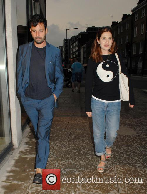 Bonnie Wright and Simon Hammerstein 2
