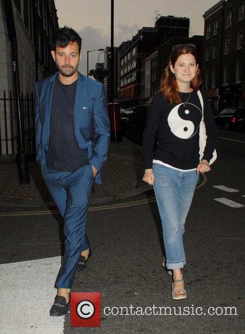 Bonnie Wright and Simon Hammerstein 3