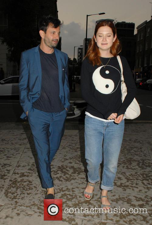 Bonnie Wright and Simon Hammerstein 5