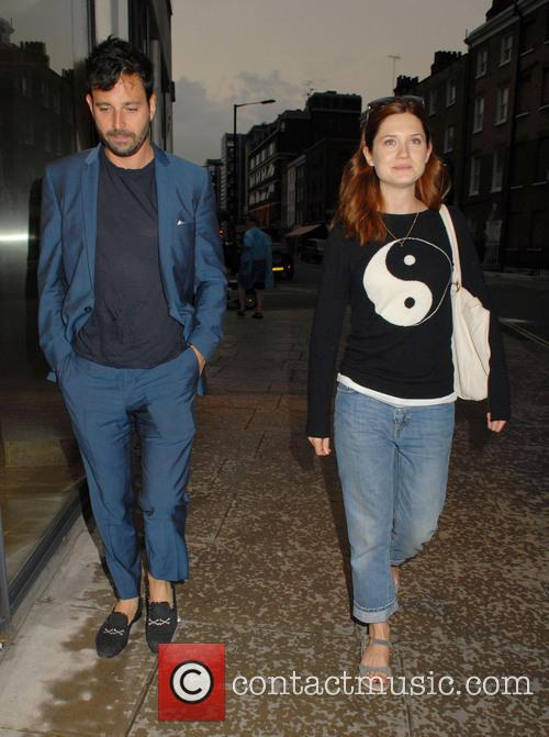 Bonnie Wright and Simon Hammerstein 6