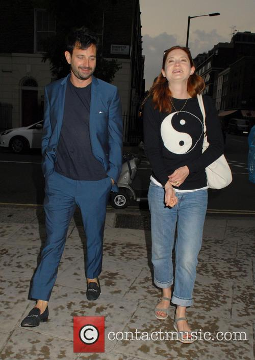 Bonnie Wright and Simon Hammerstein 8