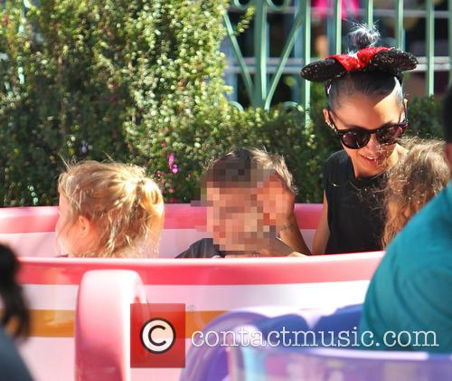 Nicole Richie, Harlow Madden and Sparrow Madden 3