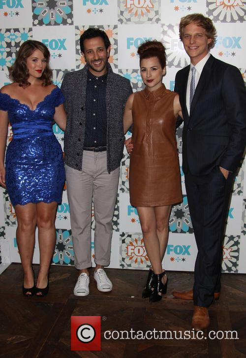 Kether Donahue, Desmin Borges, Aya Cash and Chris Geere 6