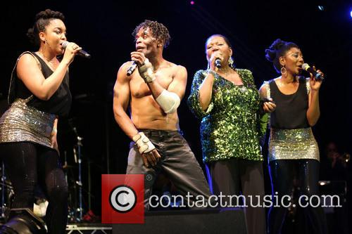 Boney M and Liz Mitchell