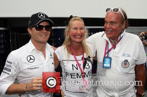 Consul Weyer and Nico Rosberg