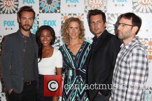 Tom Mison, Nicole Beharie, Heather Kadin, Len Wiseman and Mark Goffman 5