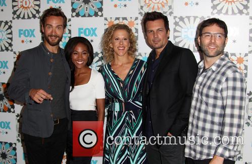 Tom Mison, Nicole Beharie, Heather Kadin, Len Wiseman and Mark Goffman 9