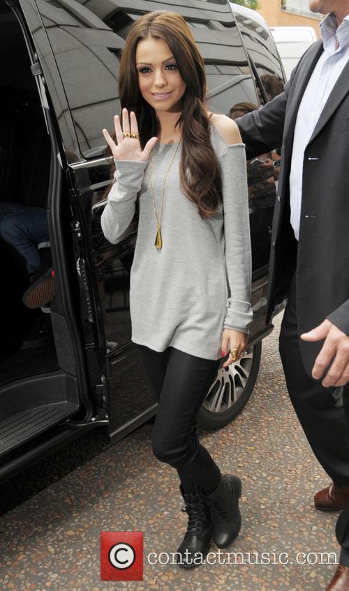 Cher Lloyd Leaving the ITV Studios