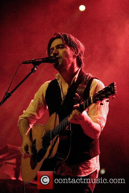 Conor Oberst performs at The O2 in Glasgow
