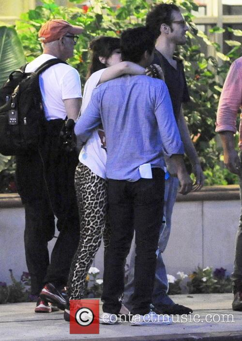 Zooey Deschanel Making Out Session