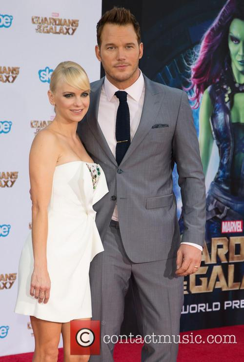 Anna Faris and Chris Pratt 7