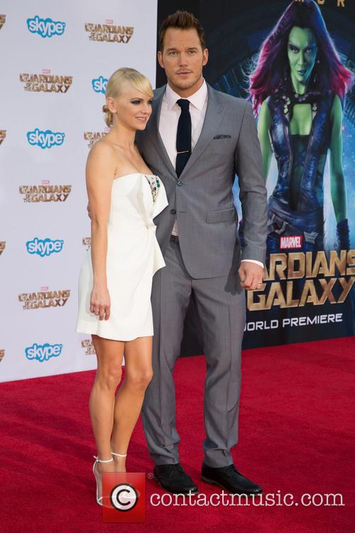 Anna Faris and Chris Pratt 10