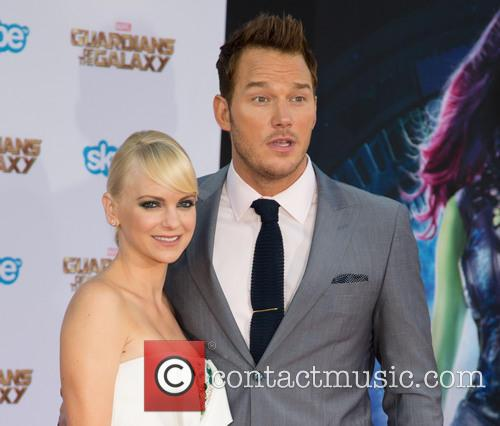 anna faris chris pratt the premiere of marvels 4297538