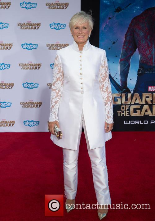 glenn close the premiere of marvels guardians 4297460