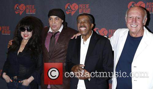 Ronnie Spector, Steven Van Zandt, Ben E. King and Mike Stoller 5